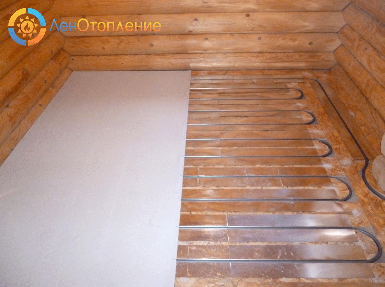 Как сделать отопление деревянный пол в частном доме